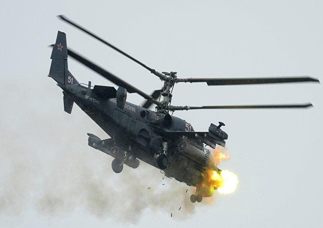「短吻鰐」卡-52攻擊直升機