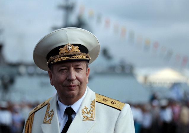 俄羅斯海軍副司令亞歷山大·費多堅科夫