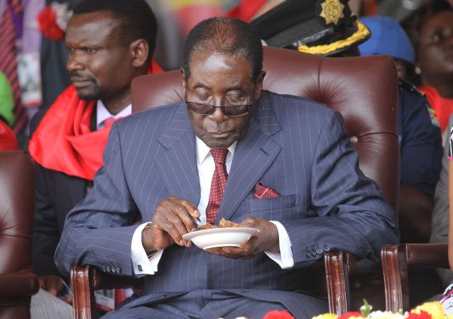 津巴布韋總統穆加貝
