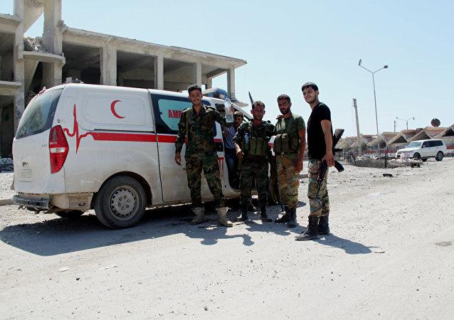 俄國防部:武裝分子開火後敘軍隊重返卡斯泰洛路