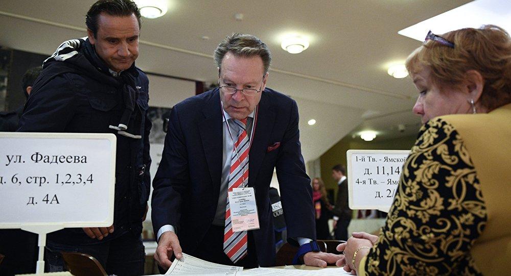 俄中央選舉委員會:63個國家的774名觀察員在俄羅斯55個地區的選舉點工作