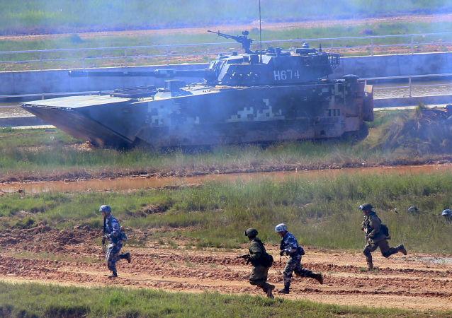 俄中兩國軍事等領域的合作不針對第三國