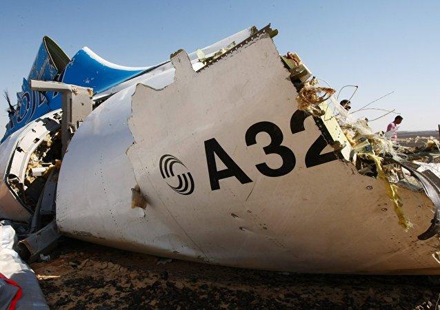 俄調查委員會已查明在西奈半島上空墜毀的A321航班機身爆炸位置