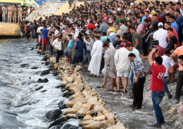 在埃及沿岸的海難已經造成超過160人死亡