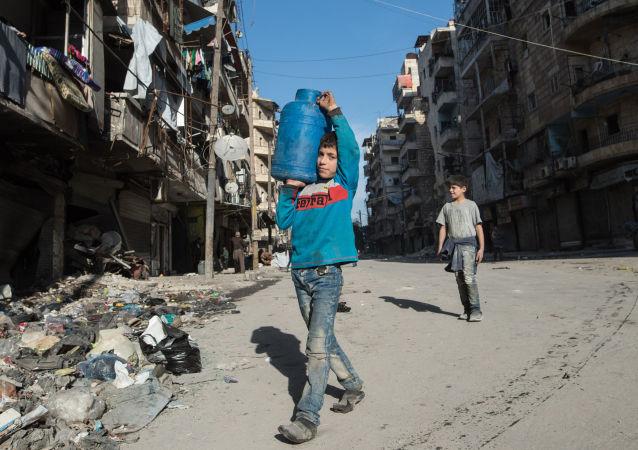 聯合國兒童基金會:約200萬阿勒頗市民因戰爭無水可喝
