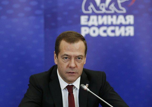 俄總理:統俄黨將推選新面孔進入俄聯邦委員會