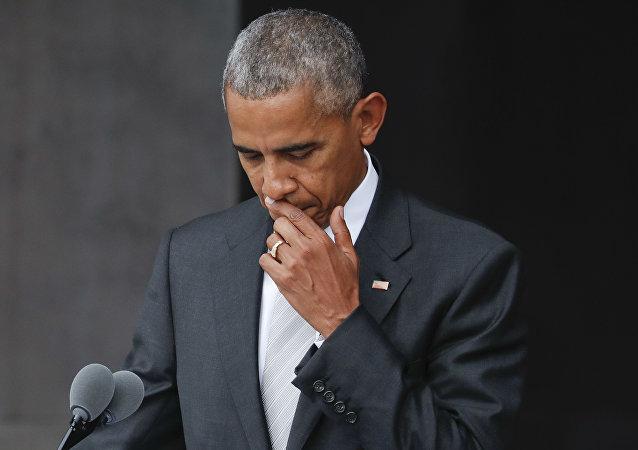 美國前總統巴拉克•奧巴馬