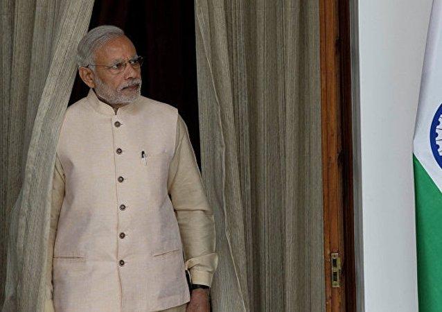 印度總理莫迪被《時代》週刊評為年度風雲人物
