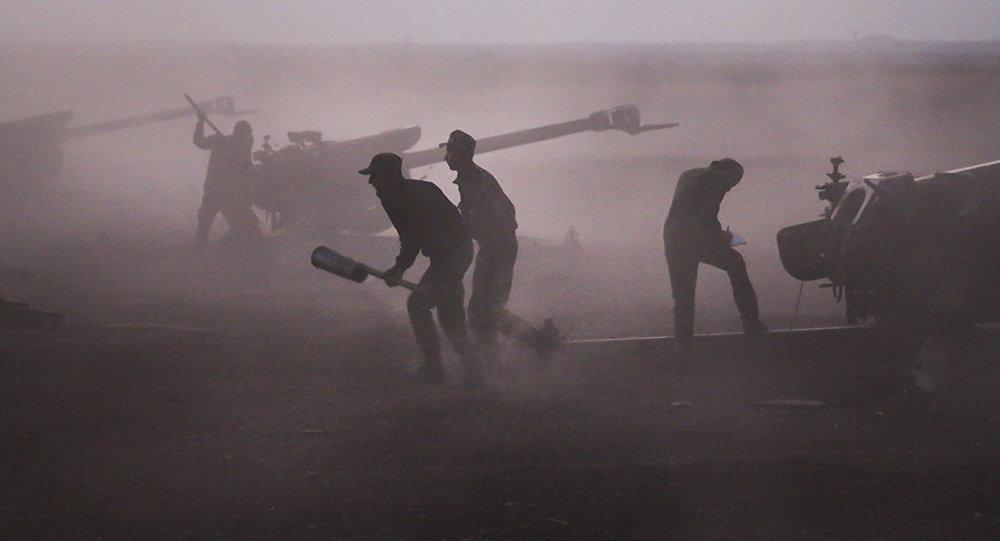 敘駐俄大使:恐怖組織在以色列與國際聯軍飛機掩護下進攻代爾祖爾省