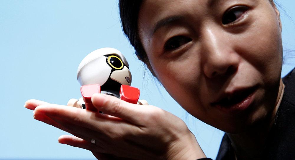 Toyota Motor Corp's Kirobo Mini robot