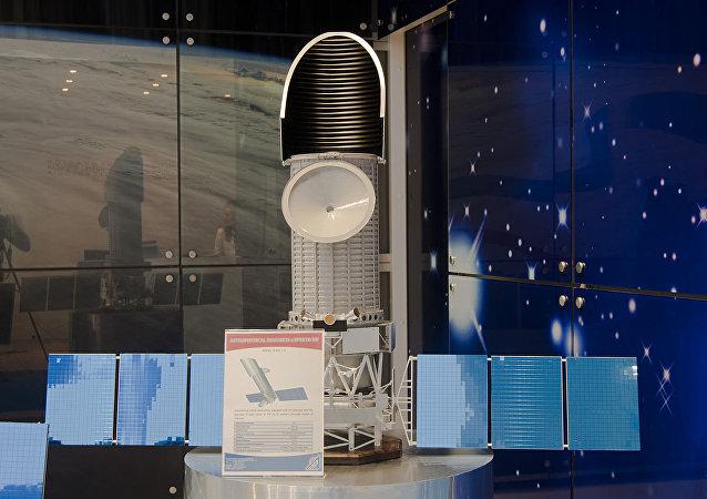 「光譜-紫外線」天文觀測台模型