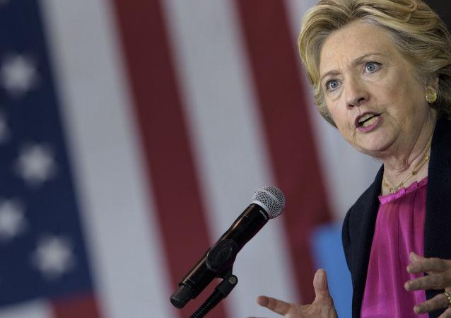 希拉里·克林頓稱特朗普退出《中導條約》決定是送給普京的禮物