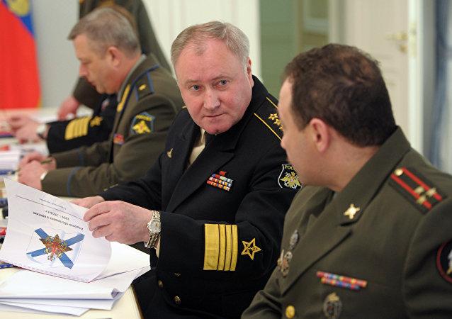 俄羅斯海軍總司令弗拉基米爾•科羅廖夫