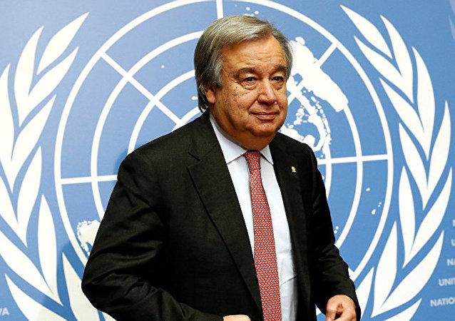 聯合國秘書長古特雷斯