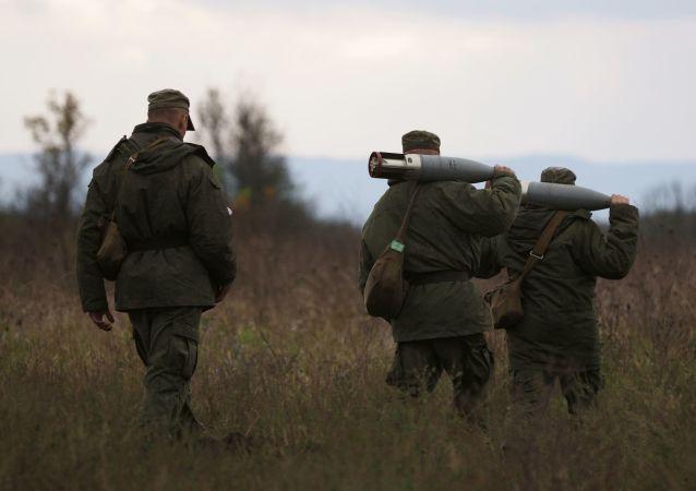 俄摩托化步兵