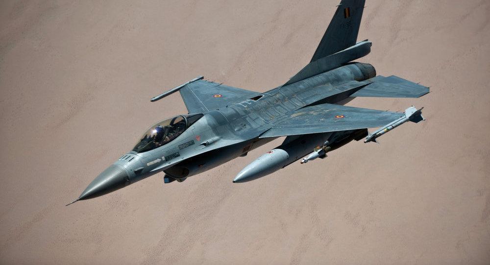 比利時的F-16殲擊機