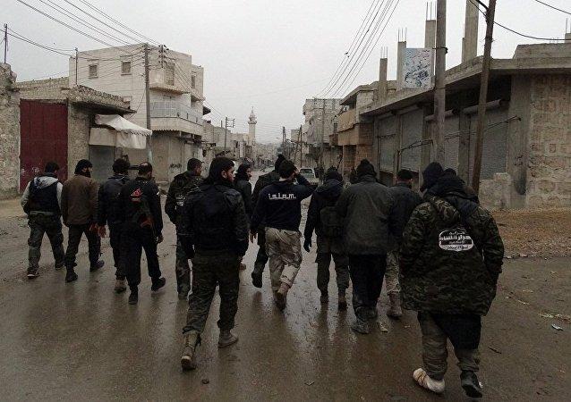 五十多名武裝分子向敘利亞政府方倒戈