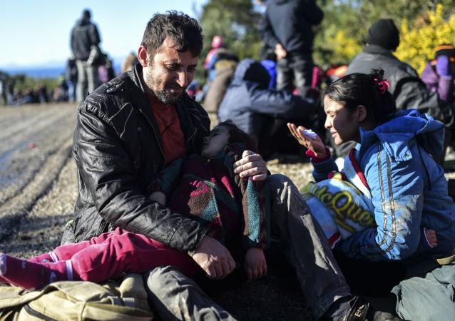 來自敘利亞的難民在土耳其