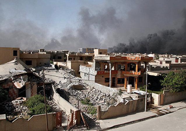 俄國防部:俄空天部隊未在敘利亞實施空襲,以美為首聯軍9次打擊摩蘇爾