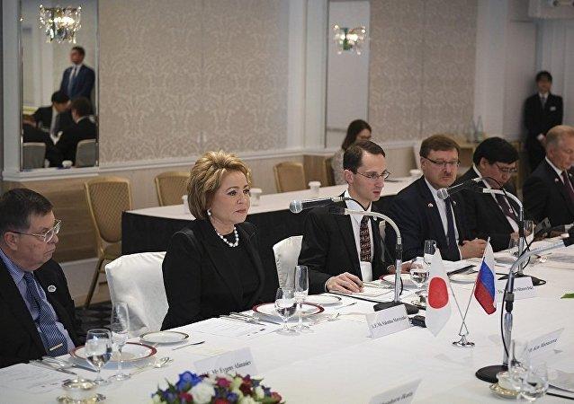 俄聯邦委員會主席:俄日正起草兩國均能接受的和平條約內容