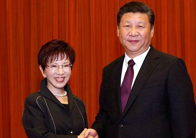 共國兩黨共同尋求台灣海峽穩定的途徑