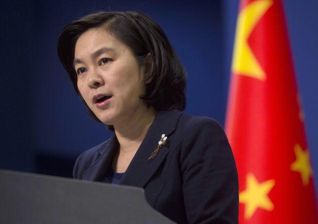 中國外交部新聞發言人華春瑩