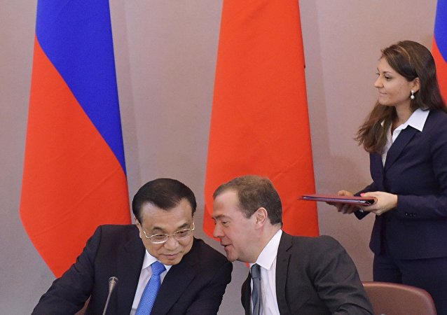 俄中兩國總理17日將商討經貿合作問題