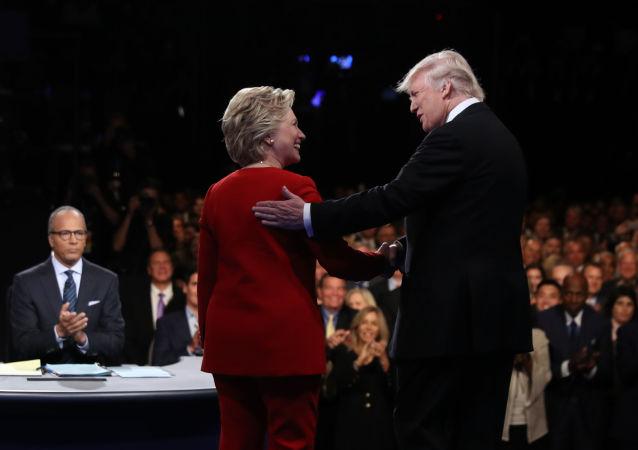 特朗普與希拉里·克林頓