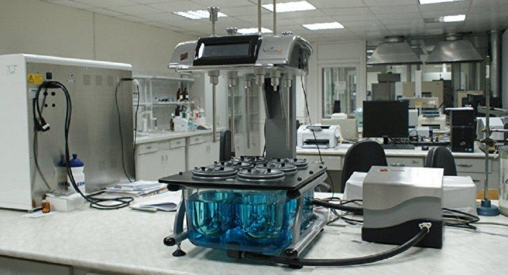 俄羅斯NC Pharm制藥公司的實驗室