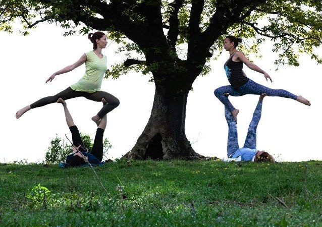 印度科學家認識到瑜伽是戒煙的有效方法