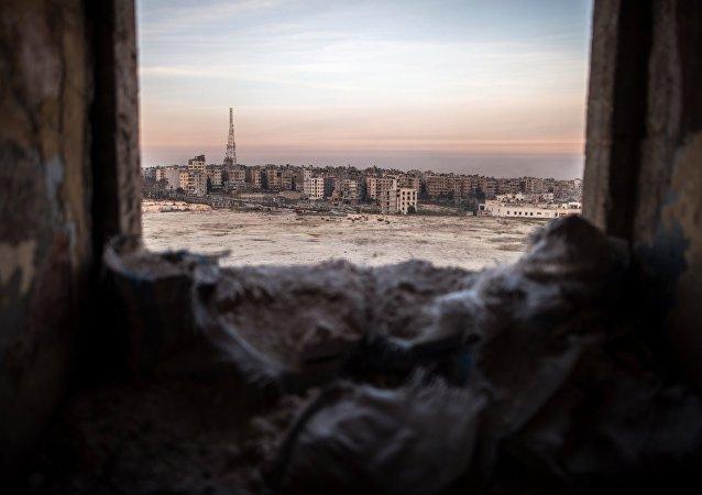 電視台:武裝分子在阿勒頗向敘政府軍發射毒氣彈有人員受傷