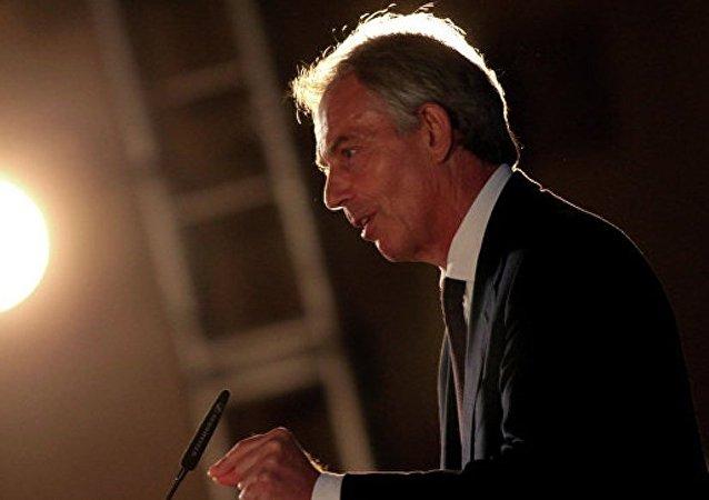 英國前首相否認有關計劃加入特朗普團隊的說法