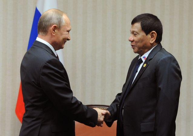 俄外交部證實菲律賓總統將於年內訪俄