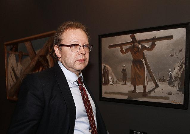 列賓美院院長米哈伊洛夫斯基
