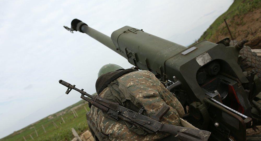 阿塞拜疆國防部:亞美尼亞武裝力量在卡拉巴赫開炮並造成傷亡