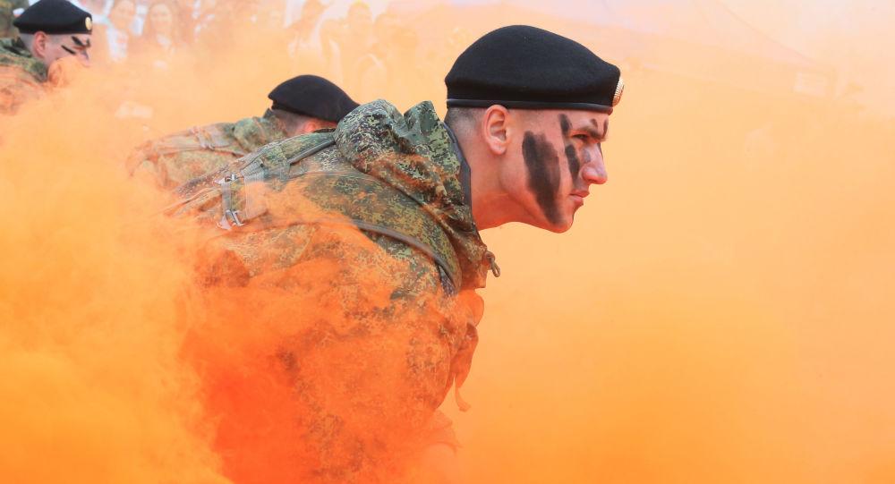俄西部軍區團隊成為「世界戰士」大賽全俄賽段的最佳團隊