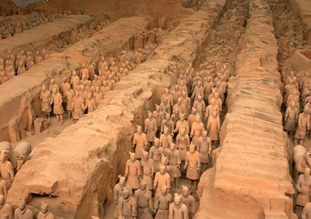中國呼籲美國嚴懲盜竊秦始皇兵馬俑手指的肇事者