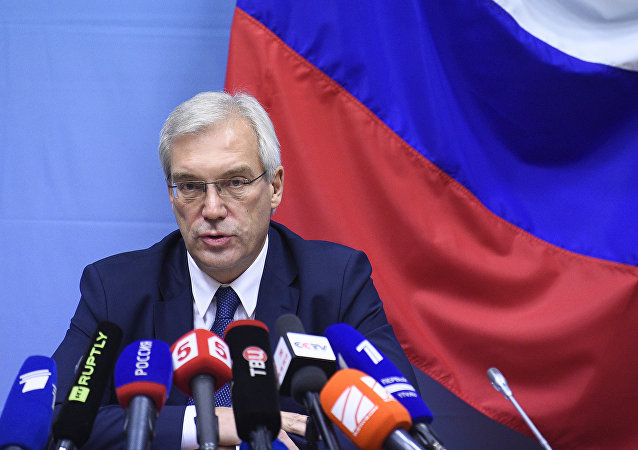 俄羅斯副外長亞歷山大·格魯什科
