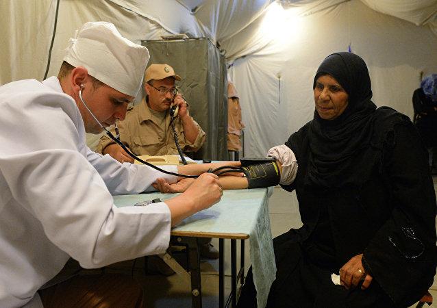 俄駐敘衝突各方調解中心為近8.6萬名敘利亞人提供醫療服務