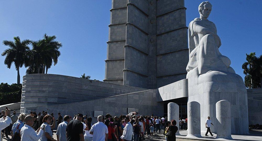 菲德爾•卡斯特羅追悼會在古巴首都哈瓦那開始