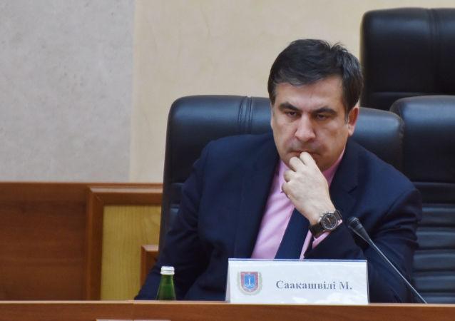 格魯吉亞前總統請求歐盟和默克爾幫助其對抗波羅申科