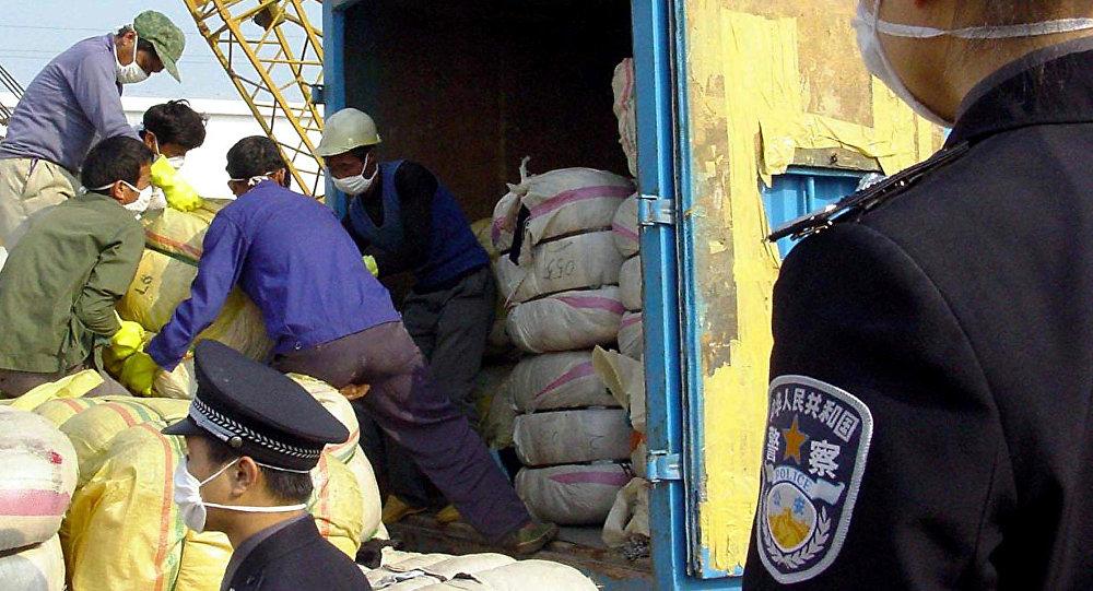 滿洲裡海關查獲672公斤俄產中藥材進境案