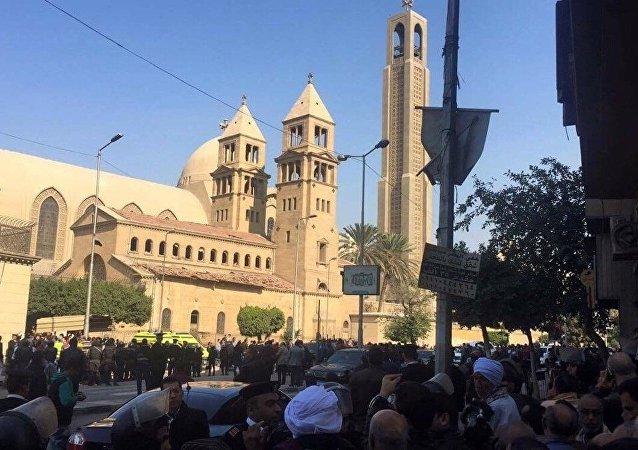 埃及內政部:埃及強力人員消滅7名準備在復活節上發動恐怖襲擊的恐怖分子
