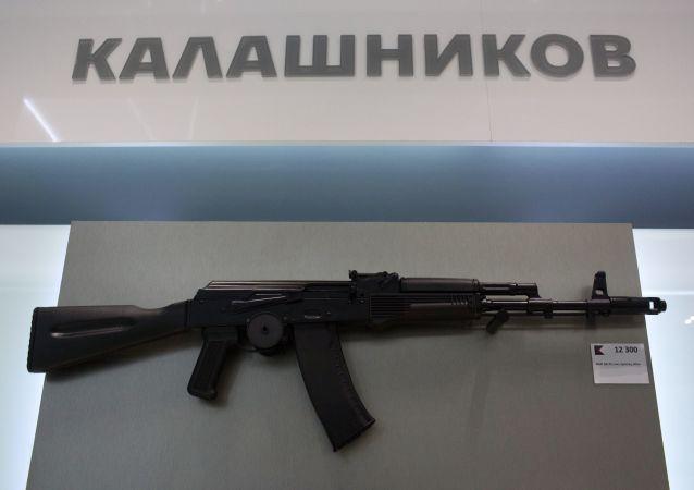 俄印開設生產卡拉什尼科夫自動步槍的工廠