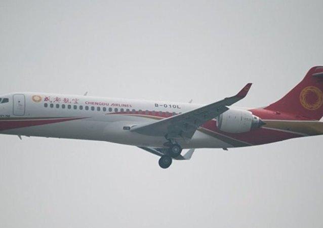 中國耗資500億元建新型客機
