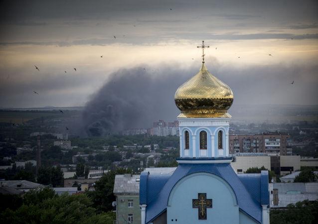 盧甘斯克人民警察:烏強力人員一晝夜開火6次