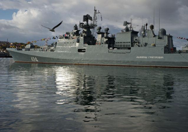 俄向地中海派出裝備有「口徑」導彈的「格里戈羅維奇海軍上將」號護衛艦