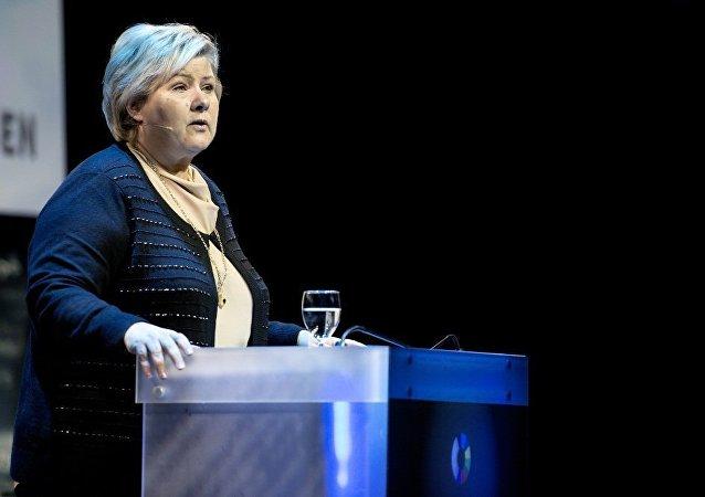 挪威首相歐娜·索爾貝格