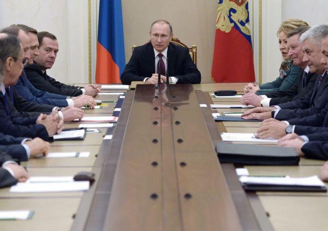 俄聯邦安全會議:已制定至2030年俄羅斯經濟安全戰略