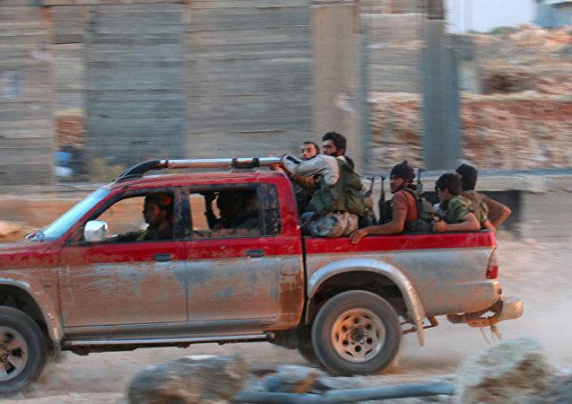 敘利亞武裝分子/資料圖片/